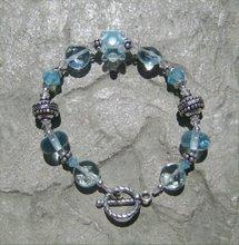 Aquamarine Lampwork