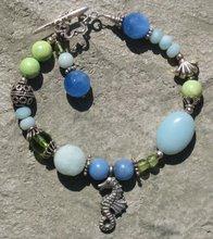 Blue Jade, Turquoise and Amazonite