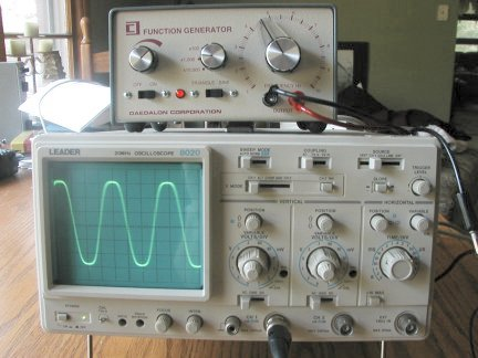 Messing With The Oscilloscope