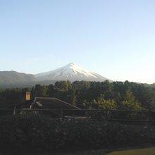 Araucania: Villarica vulcano, Pucón