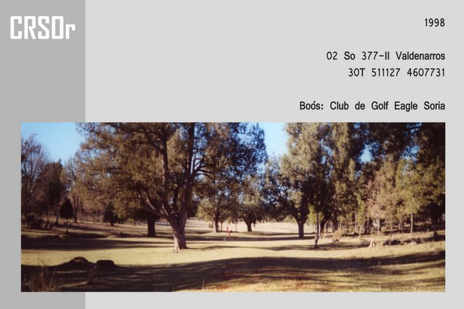 1998 Soria - Boos: club de golf Eagle Soria