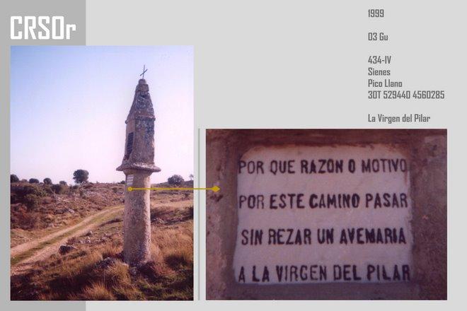 1999 Guadalajara - Sienes: La Virgen del Pilar