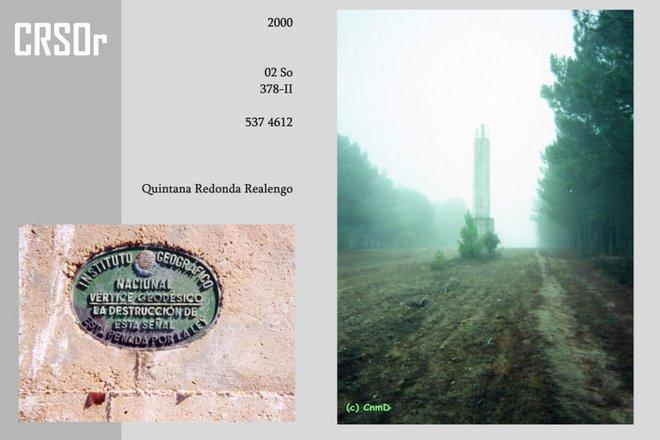 2000: Geodetisch punt