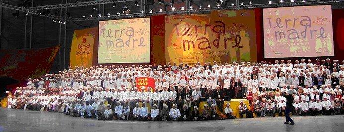 1000 cocineros de Terra Madre, octubre del 2006