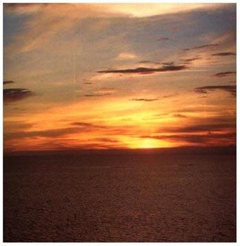 la brisa y el mar