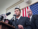 US Army Lieutenant Ehren Watada