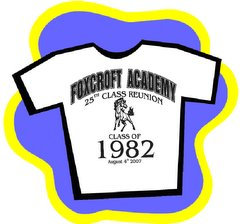 Would you like to purchase a 25th reunion t-shirt?