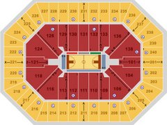 TIMBERWOLVES TARGET CENTER SEATING CHART
