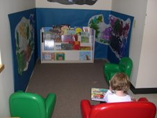 Defined Pre-K reading area