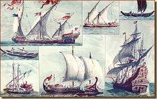 Embarcaciones de la escuela náutica del mediterraneo.