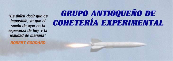 Grupo Antioqueño de Cohetería Experimental