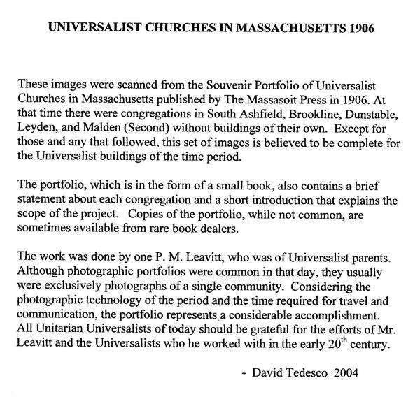 About the Universalist Portfolio