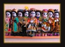 Uzbekistan. Dolls