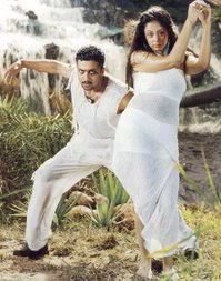 Perazhagan - Surya's first double role