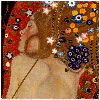 Serpientes Acuáticas Gustav Klimt