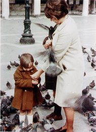 Con Mamá en Piazza San Marco, Venecia