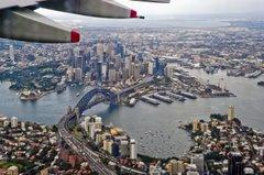 Sydney z Jambo Jet AIRBUS – 380 (Foto: T. Koprowski)