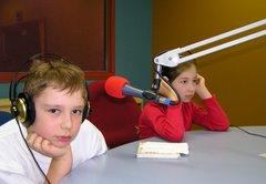 Najmłodsi redaktorzy: Julia i Bartek Dziubińscy
