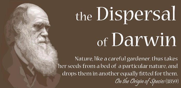 The Dispersal of Darwin