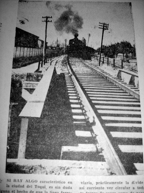 Fotografía Diario Austral Ferrocarril