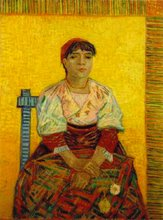 The Italian Woman by Van Gogh