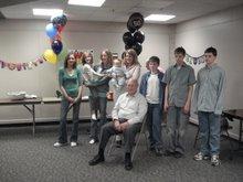Grandpa Thomas and Most of the Grandkids