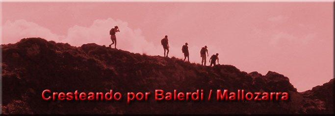 Cresteando por Balerdi/Mallozarra