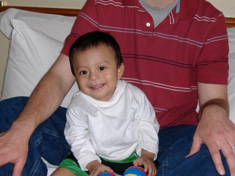 Caleb, 9 1/2 months