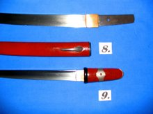 16th century Japanese wakizashi blade/ 17th century aikuchi