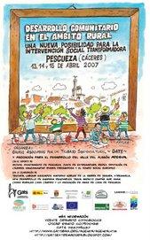 Jornadas Desarrollo Comunitario en el ambito Rural