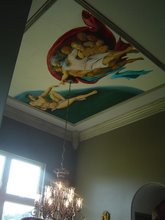 creation on ceiling