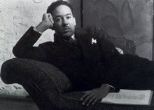 Langston Hughes is part of the Afro American Gay and Lesbian Archive at the Schomburg Center