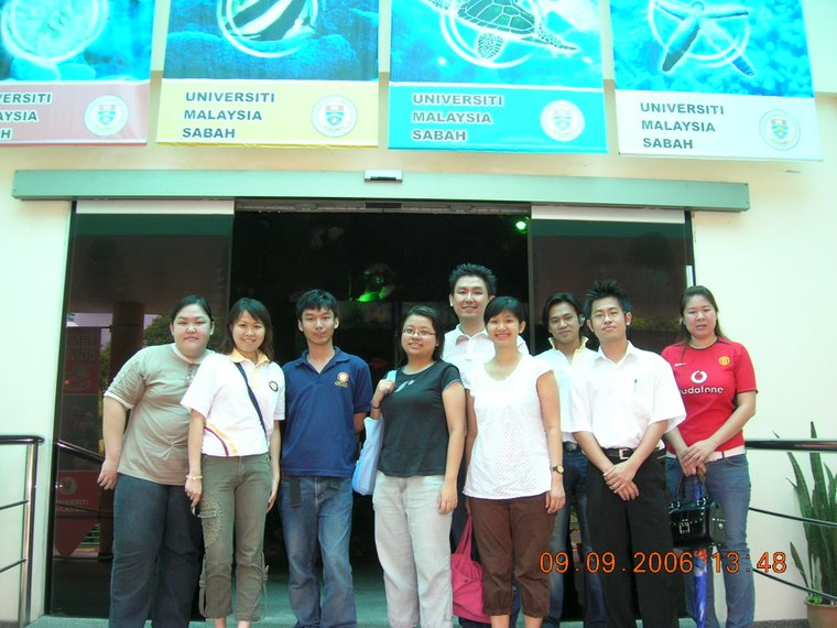 Visitation to Universiti Malaysia Sabah Aquarium (9th September 2006)