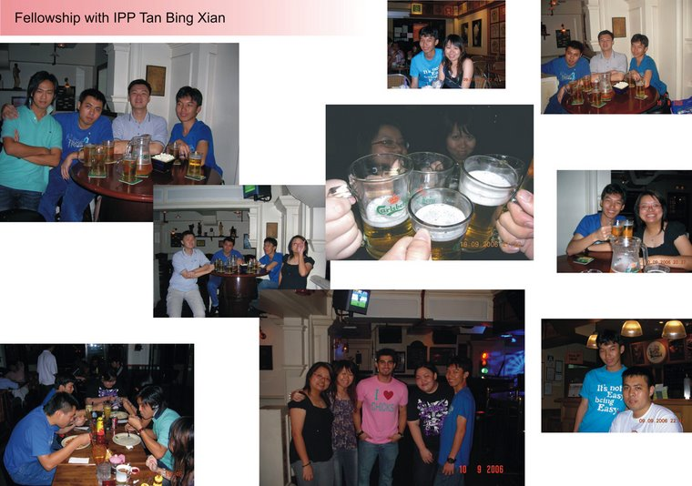 Fellowship with IPP Tan Bing Xian (10th September 2006)