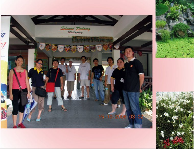 Visitation to Agricultural Park, Tenom (15th October 2006)