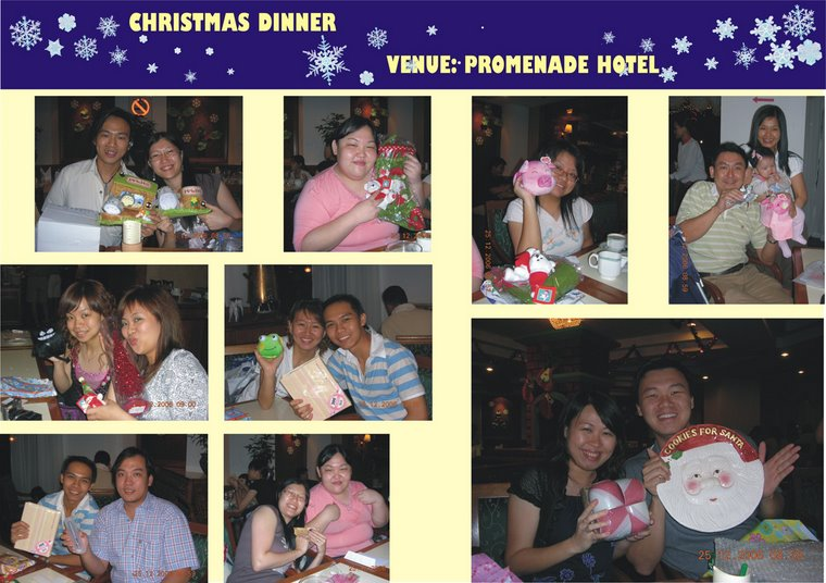 Christnas Dinner at Promenade Hotel (25th December 2006)