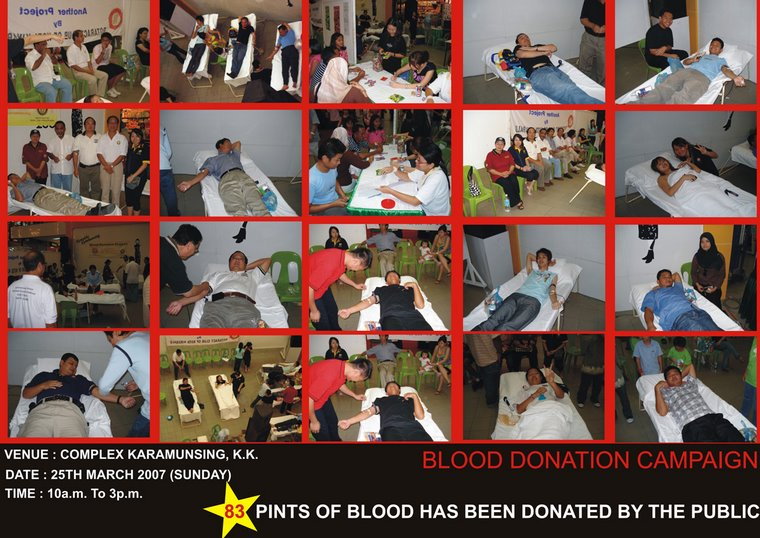 Blood Donation Campaign (25th March 2007)