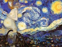 Hope on a starry night
