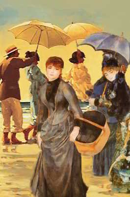 Les parapluies 2