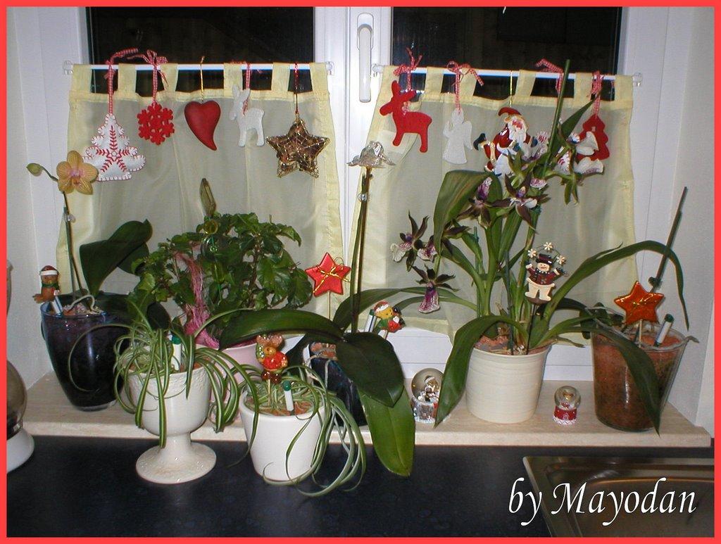 Christmas decoration mayodans home garden crafts for Fensterbank dekoration
