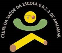 Este é o nosso logotipo, projectado por um dos membros do clube, apresentado em concurso.