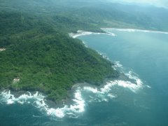 Costa Rica seen from above...