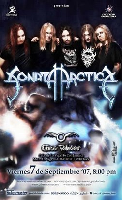 SONATA ARCTICA EN MEXICO