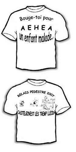 T-shirt dessin 2007