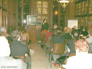 Conferencias F.H. en la Biblª Públ. Arús