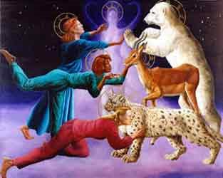 Communication with spirit animal guides