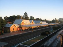 Cootamundra Train Station
