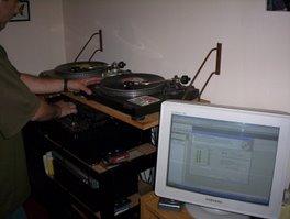 Mezclando musica