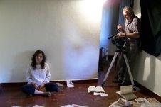 """Filmación de nuestro corto """"Contra el viento"""""""