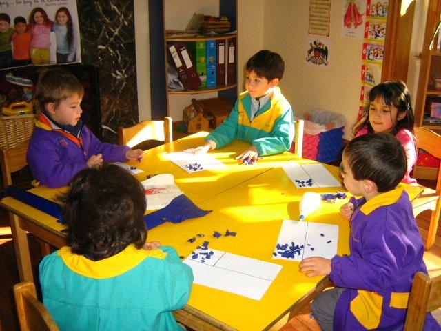 Creando nuestras Banderas chilenas